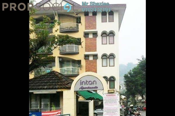 Apartment For Sale in Intan Apartment, Setiawangsa Freehold Fully Furnished 3R/2B 349k