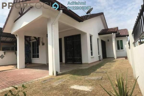 Terrace For Sale in Nobat, Bandar Bukit Raja Freehold Semi Furnished 3R/2B 569k