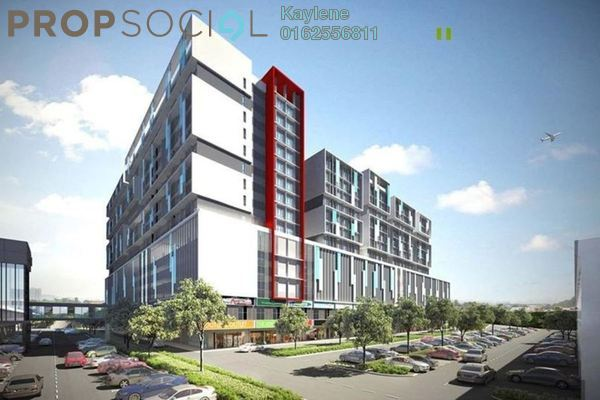 Condominium For Sale in Core SoHo Suites, Sepang Freehold Semi Furnished 1R/1B 258k