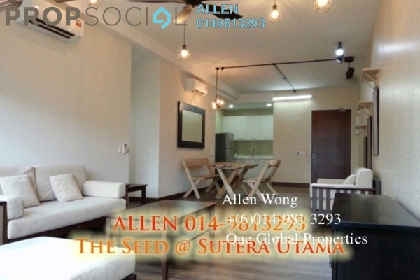 Condominium For Sale in The Seed @ Sutera Utama, Skudai Freehold Fully Furnished 3R/3B 650k