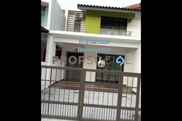 Terrace For Rent in Perjiranan 12, Bandar Dato' Onn Freehold unfurnished 4R/4B 1.55k