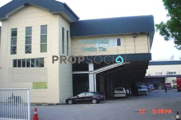 Factory For Rent in Section 13, Shah Alam Freehold Semi Furnished 0R/0B 139k