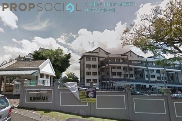 Apartment For Rent in Sri Kinabalu, Wangsa Maju Freehold Semi Furnished 3R/2B 1.4k