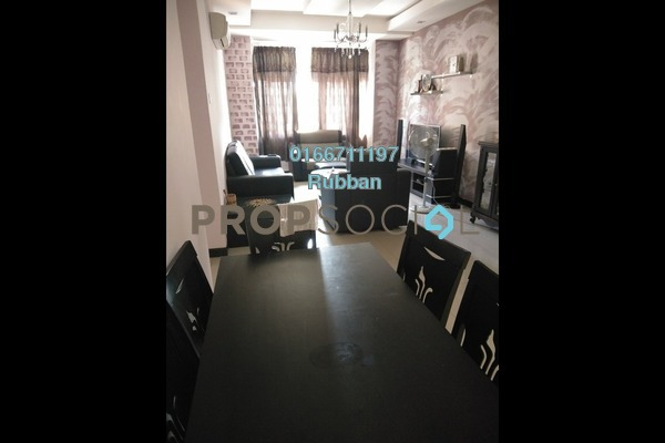 Apartment For Sale in Desa Idaman Residences, Puchong Freehold Semi Furnished 3R/2B 300k