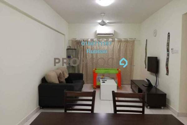 Condominium For Sale in Casa Tropika, Puchong Freehold Semi Furnished 3R/2B 360k