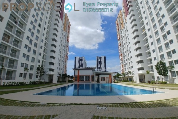 Condominium For Rent in Setia EcoHill, Semenyih Freehold Unfurnished 3R/2B 750translationmissing:en.pricing.unit