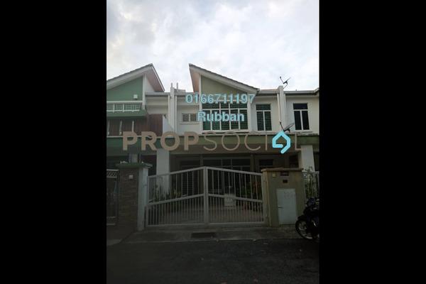 Terrace For Sale in PU1, Bandar Puchong Utama Freehold Semi Furnished 4R/3B 760k