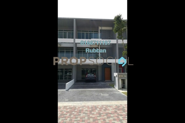 Superlink For Sale in D'Island, Puchong Freehold Semi Furnished 6R/6B 1.8m