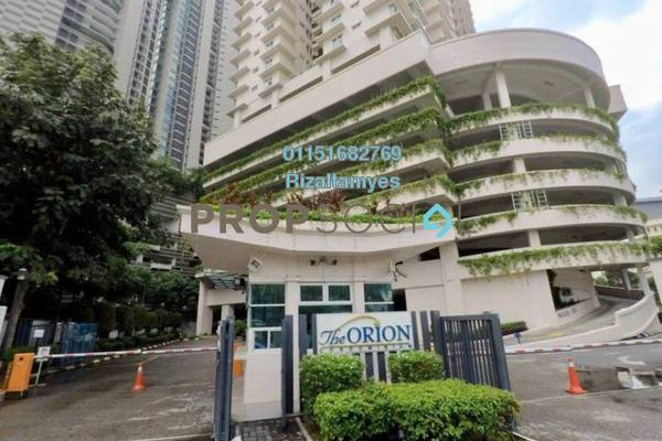 Condominium For Sale in The Orion, KLCC Freehold Semi Furnished 3R/2B 635k