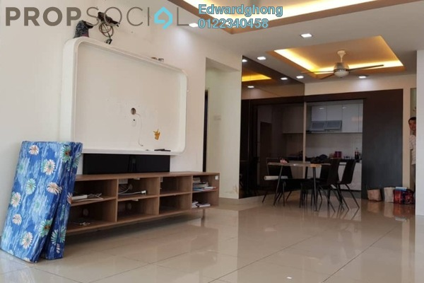For Rent Condominium at First Residence, Kepong Freehold Semi Furnished 3R/2B 2.5k