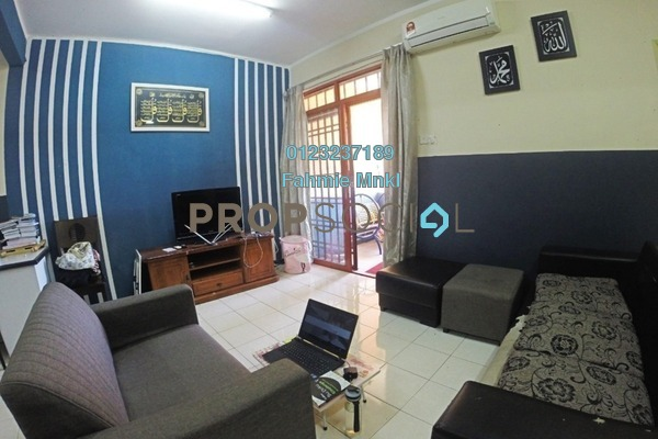 Apartment For Sale in Permai Putera, Ampang Leasehold Semi Furnished 3R/2B 340k
