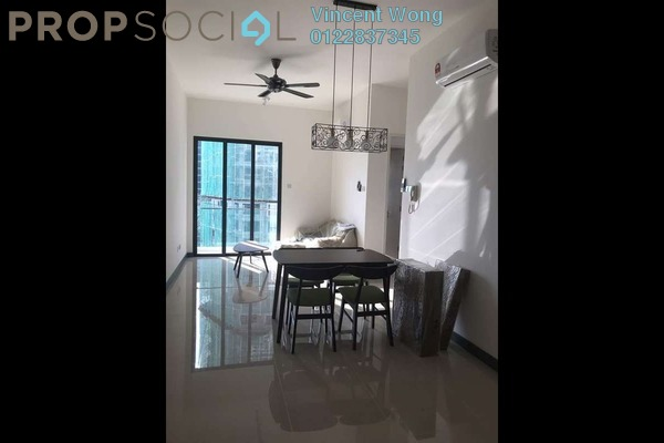 Serviced Residence For Rent in South View, Bangsar South Freehold Fully Furnished 2R/2B 2.3k
