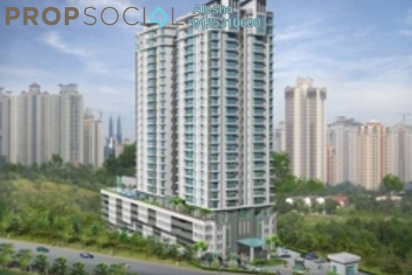 Condominium For Sale in Aston Kiara 3, Mont Kiara Freehold Unfurnished 0R/0B 551k