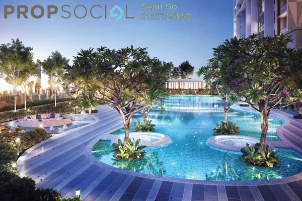 Serviced Residence For Sale in Trion @ KL, Kuala Lumpur Freehold Semi Furnished 2R/1B 471k