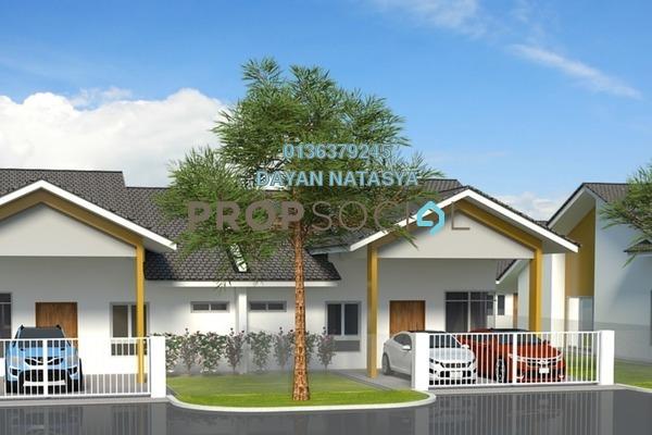 Semi-Detached For Sale in Caribbean Bay Resort, Gambang Leasehold Semi Furnished 3R/2B 153k