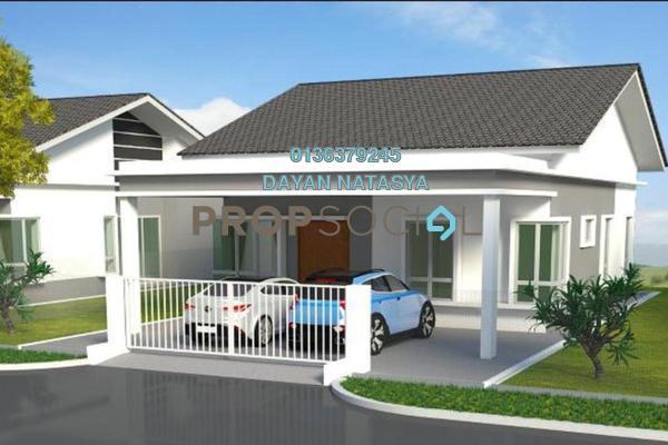 Bungalow For Sale in Caribbean Bay Resort, Gambang Freehold Semi Furnished 3R/2B 214k