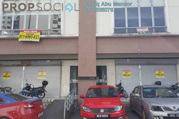 Shop For Sale in Taman Putra Sulaiman, Ampang Freehold Semi Furnished 0R/0B 4.8m