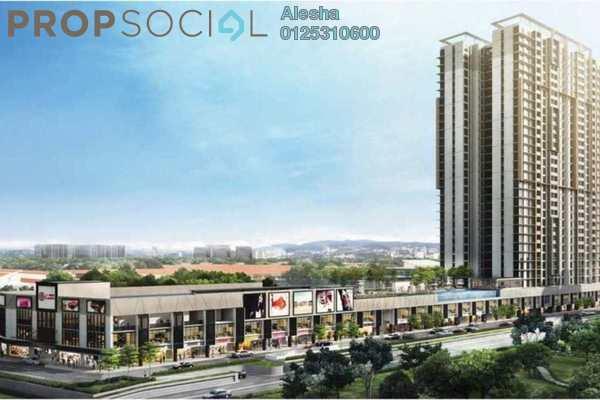 Serviced Residence For Sale in Glomac Centro, Bandar Utama Freehold Unfurnished 0R/0B 591k