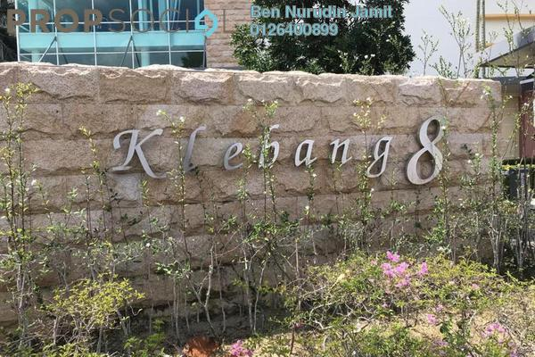 For Sale Condominium at Klebang Delima, Klebang Freehold Semi Furnished 3R/3B 530k
