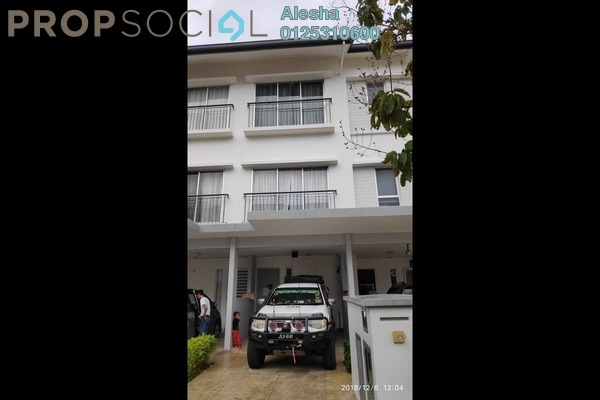 Townhouse For Sale in MontBleu Residence, Tambun Freehold Unfurnished 0R/0B 516k