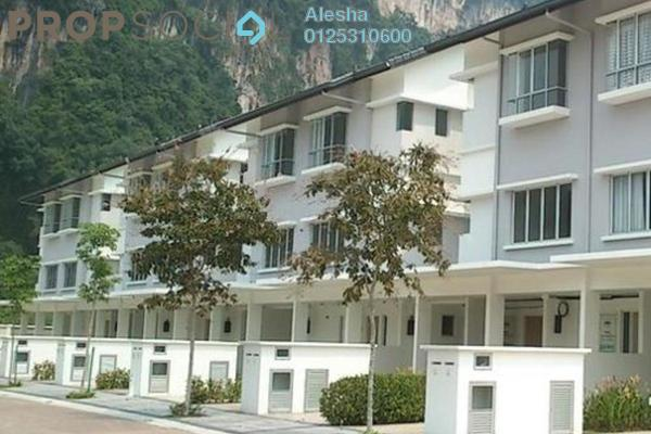 Townhouse For Sale in MontBleu Residence, Tambun Freehold Unfurnished 0R/0B 462k