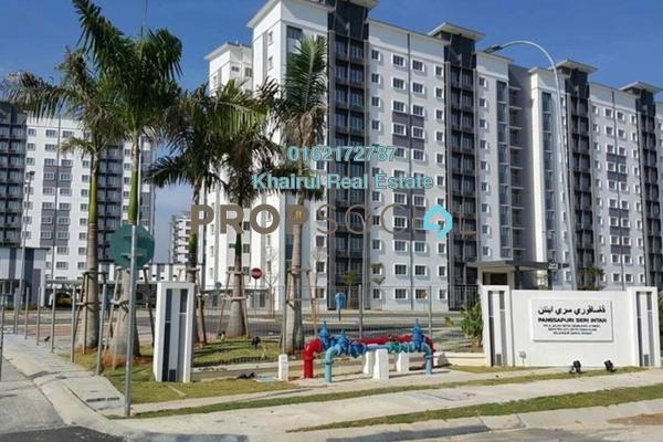 For Sale Apartment at Seri Intan Apartment, Setia Alam Freehold Unfurnished 3R/2B 330k