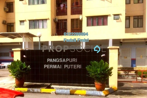 Apartment For Rent in Permai Puteri, Ampang Freehold Unfurnished 3R/2B 1.25k