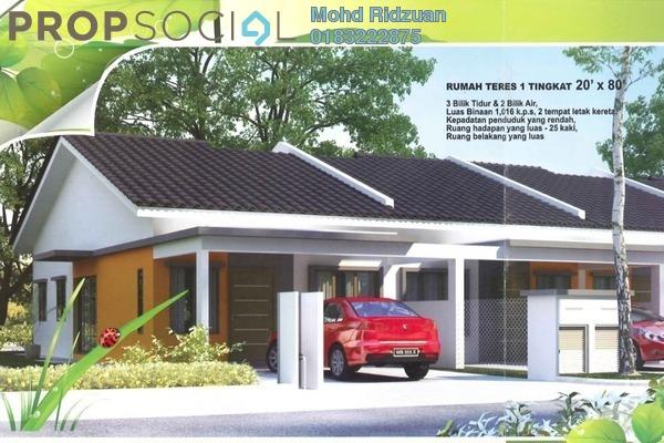 Terrace For Sale in Taman Salak Kasturi, Sepang Leasehold Unfurnished 3R/2B 370k