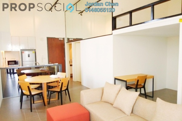 For Sale Serviced Residence at The Establishment, Brickfields Freehold Fully Furnished 2R/2B 835k