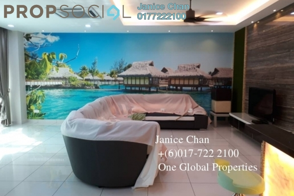 Link For Sale in Taman Mount Austin, Tebrau Freehold Fully Furnished 4R/5B 1.4m