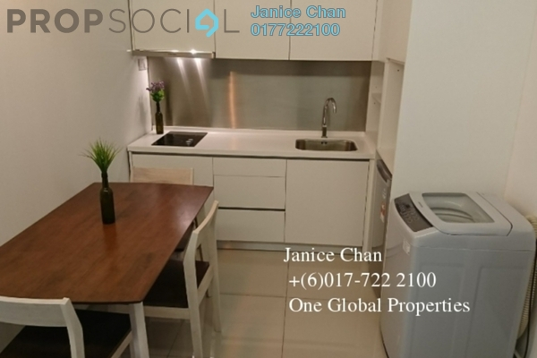 Condominium For Rent in Twin Galaxy, Johor Bahru Freehold Fully Furnished 0R/1B 1.6k