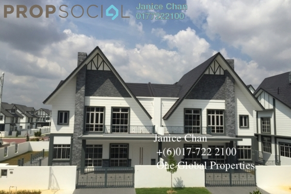 Semi-Detached For Sale in Eco Spring, Tebrau Freehold Unfurnished 4R/5B 2.4m