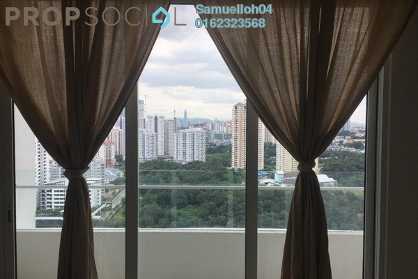 Condominium For Rent in Scenaria, Segambut Freehold Semi Furnished 3R/2B 2.1k