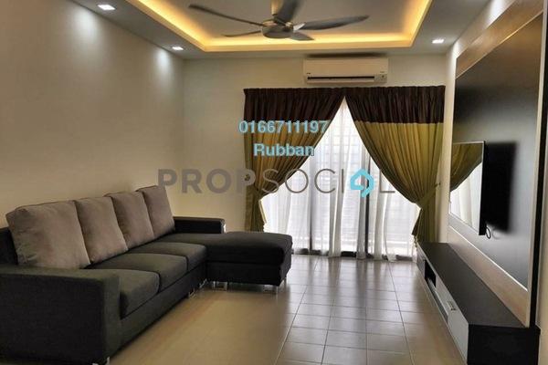 Condominium For Sale in Hijauan Puteri, Bandar Puteri Puchong Freehold Fully Furnished 3R/2B 400k