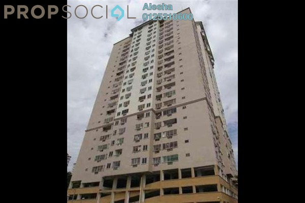 Condominium For Sale in Pelangi Indah, Jalan Ipoh Freehold Semi Furnished 0R/0B 277k