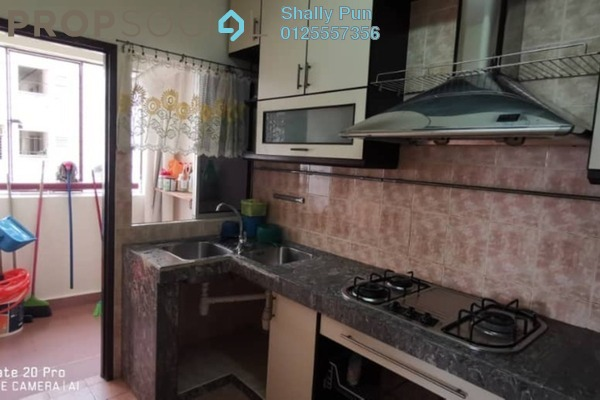 Apartment For Rent in Saraka Apartment, Pusat Bandar Puchong Freehold semi_furnished 3R/2B 1.2k
