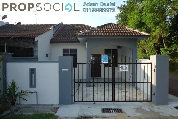 Terrace For Sale in Bandar Kangkar Pulai, Pulai Freehold Unfurnished 3R/2B 320k