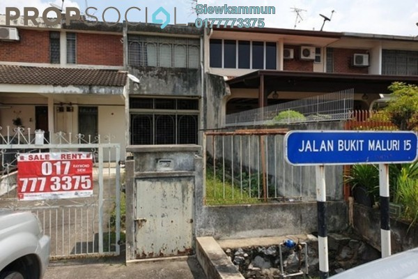 Apartment For Rent in Taman Bukit Maluri, Kepong Freehold Semi Furnished 3R/2B 1.3k