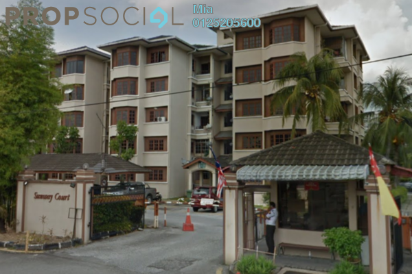 Apartment For Sale in Sunway Court, Bandar Sunway Freehold Unfurnished 0R/0B 348k