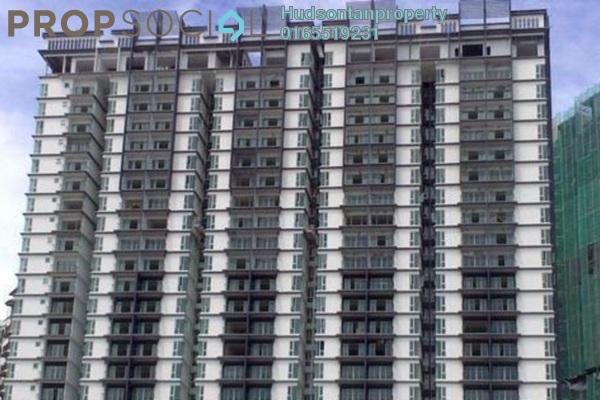 Condominium For Sale in 222 Residency, Setapak Freehold Semi Furnished 3R/2B 470k