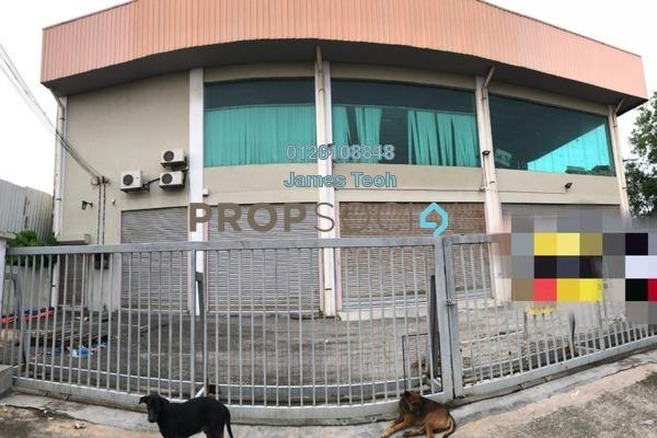 Factory For Rent in Taman Pandamaran Jaya, Port Klang Freehold Semi Furnished 0R/0B 13k