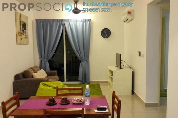 Condominium For Sale in De Centrum Residences, Kajang Freehold Semi Furnished 2R/1B 310k