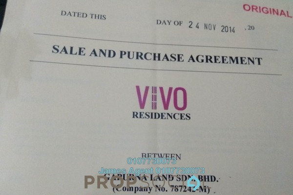 Condominium For Rent in VIVO Suites @ 9 Seputeh, Old Klang Road Freehold Semi Furnished 3R/2B 4.8k