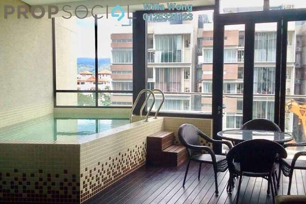 Condominium For Sale in Gallery U-Thant, Ampang Hilir Freehold Semi Furnished 3R/3B 3.9m