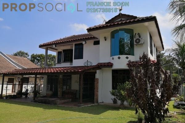 Bungalow For Sale in Taman Bertam Indah, Penang Freehold Semi Furnished 9R/6B 895k