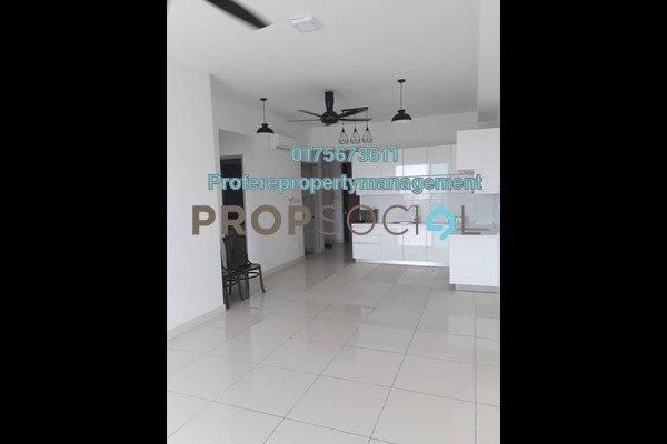 Condominium For Rent in Putra Residence, Putra Heights Freehold Unfurnished 3R/2B 1.8k