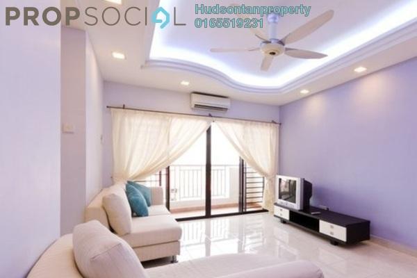Condominium For Sale in Pelangi Utama, Bandar Utama Freehold Semi Furnished 3R/2B 530k