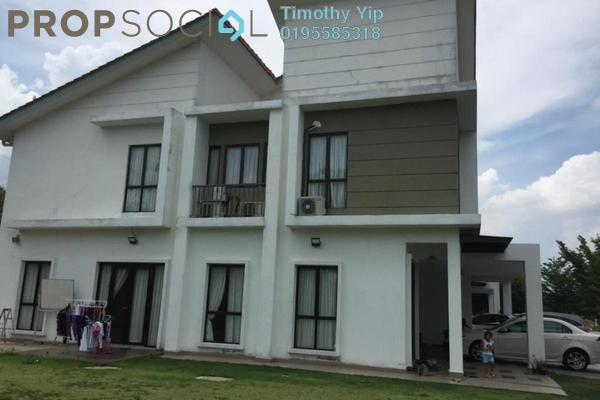 Semi-Detached For Sale in Sutera Residences, Kajang Freehold Fully Furnished 6R/6B 1.29m