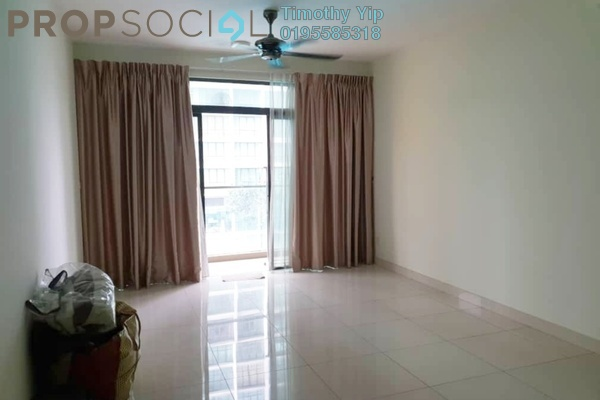 Condominium For Sale in The Z Residence, Bukit Jalil Freehold Semi Furnished 3R/2B 599k