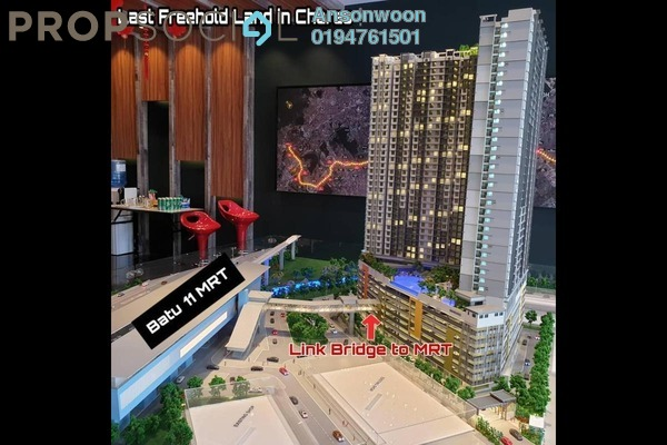 For Sale Serviced Residence at C180, Cheras South Freehold Unfurnished 3R/2B 370k